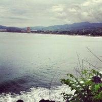 Photo taken at Jacó by Alejandro C. on 7/30/2012