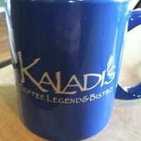 Photo taken at Kaladi's Coffee Legend & Bistro by Ashley K. on 3/3/2012