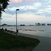 Photo taken at Plaja Neptun by Traian T. on 8/9/2012