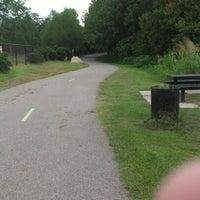Photo taken at River Walk Trail by John J. on 8/30/2012