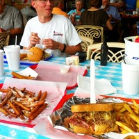 Photo taken at Burger Barge by Josh.O on 6/24/2012
