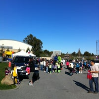 Photo taken at Woodside High School by Dave P. on 3/3/2012