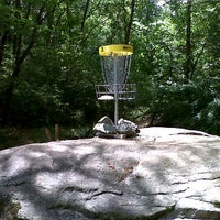 Photo taken at Bradford Park Disc Golf Course by Avery J. on 7/13/2012