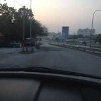 Photo taken at Traffic Light Jalan Salleh by Law J. on 8/5/2012