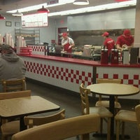 Photo taken at Five Guys by Grayson P. on 2/6/2012