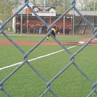 Photo taken at The Yard @ Cal Ripken Baseball Field by Mark P. on 4/15/2012