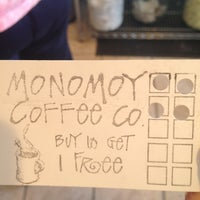 Photo taken at Monomoy Coffee Company by Caitlyn D. on 9/2/2012