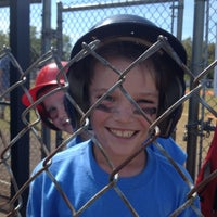 Photo taken at Palma Ceia Little League by Jeanne J. on 3/3/2012