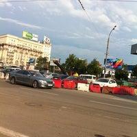 Photo taken at Стоянка Савёловский Вокзал by Tema H. on 6/15/2012