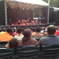 Photo taken at Carter Barron Amphitheatre by Brandon H. on 7/13/2012