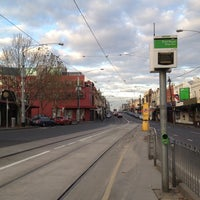 Photo taken at Tram Stop 14 (48/75) by Sam Y. on 6/27/2012