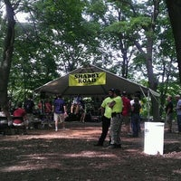 Photo taken at Washington's Crossing Brewfest 2013 by Donna S. on 5/12/2012