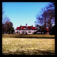 Photo taken at George Washington's Mount Vernon by Jeremy A. on 2/20/2012