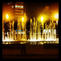 Photo taken at Praça Diogo de Vasconcelos (Praça da Savassi) by Leandro A. on 6/18/2012
