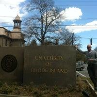 Photo taken at University of Rhode Island by Uri F. on 4/13/2012