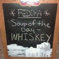 Photo taken at Fedora Lounge by Ora on 5/28/2012