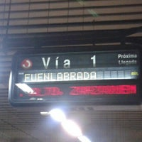Photo taken at Metro Aluche by Jesus .. on 7/25/2012