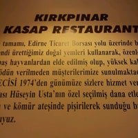 Photo taken at Kırkpınar Kasap Restaurant by M A. on 7/31/2012