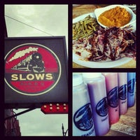 Photo taken at Slows Bar-B-Q by Kirk W. on 4/14/2012