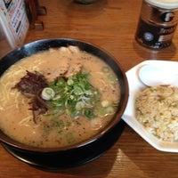 Photo taken at らー麺 藤吉 平野店 by Masayuki N. on 2/25/2012