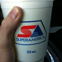 Photo taken at SuperAmerica by Jay V. on 4/12/2012