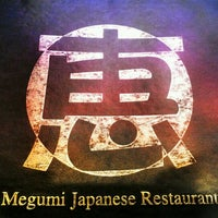 Photo taken at Megumi Japanese Restaurant by hazeL l. on 3/3/2012