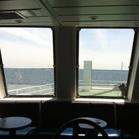 Photo taken at Bridgeport & Port Jefferson Ferry by Cheyenne R. on 5/18/2012