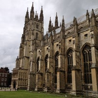 Photo taken at Canterbury Cathedral by Laurence H. on 6/15/2012