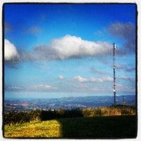 Photo taken at Cima del Naranco by Adrian S. on 9/13/2012