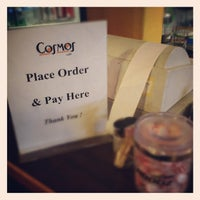 Photo taken at Cosmos Cafe by Dan W. on 5/17/2012