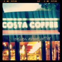 Photo taken at Costa Coffee by Jane on 9/1/2012