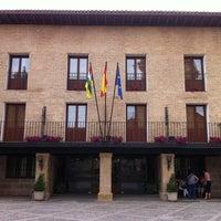 Photo taken at Parador Santo Domingo de la Calzada by Daniel D. on 6/2/2012