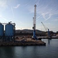 Photo taken at Porto di Piombino by Alexander on 8/30/2012