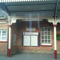 Photo taken at Oakham Railway Station (OKM) by Adam C. on 7/25/2012