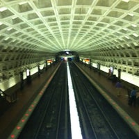 Photo taken at McPherson Square Metro Station by Felix R. on 7/9/2012
