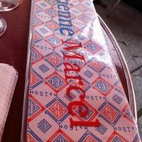Photo taken at Café Étienne Marcel by Sandra H. on 4/28/2012
