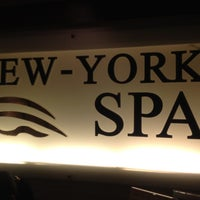 Photo taken at New York Spa by Neo D. on 4/9/2012