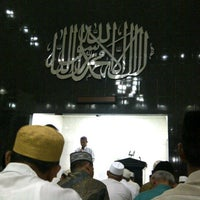 Photo taken at Masjid Imam Bonjol by Mahatma S. on 7/28/2012