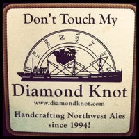 Photo taken at Diamond Knot Brewery & Alehouse by Todd W. on 8/4/2012