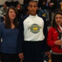 Photo taken at Ocean Lakes High School by Eloisa D. on 2/17/2012