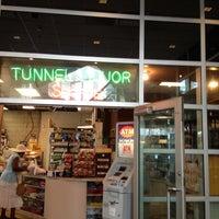 Photo taken at Tunnel Liquor Shoppe by Vikki W. on 7/21/2012