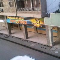 Photo taken at Comisariato Deportivo by Pamela B. on 2/13/2012