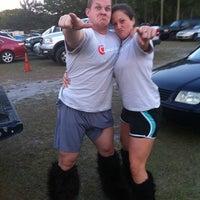 Photo taken at WAKA Kickball Field by Adriana B. on 3/15/2012