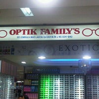 Photo taken at Optik Family's by Marlina A. on 3/15/2012