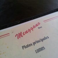 Photo taken at Menggano by Diego D. on 7/16/2012