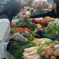 Photo taken at Pasar Segar by Pandu M. on 9/1/2012