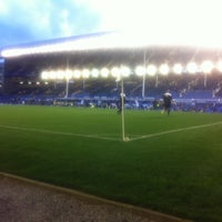 Photo taken at Goodison Park by Twizzness on 8/29/2012
