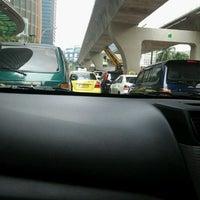 Photo taken at Jalan H.R. Rasuna Said by andita o. on 7/21/2012