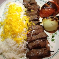 Photo taken at Ravagh Persian Grill by Kirsten P. on 6/23/2012