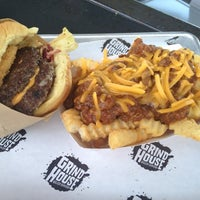 Photo taken at Grindhouse Killer Burgers by Michael v. on 4/13/2012